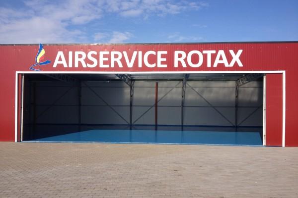 Hangar aerodrom service Bistrita