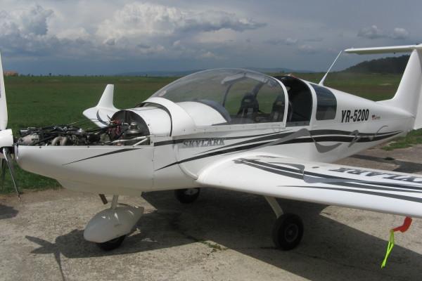 reparatie avion skylark